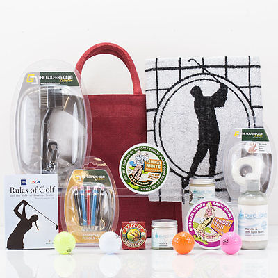 Natures Hampers Anyone Fore Golf Gift Bag - Luxury Golfer's Competition Present