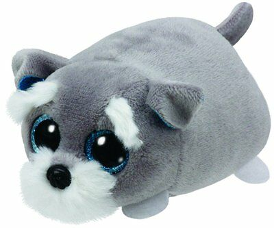 TY Beanie Baby Teeny Tys Jack the Grey Dog Soft Toy