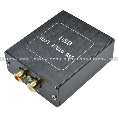 1PCS SA9227 + PCM5102A 32BIT/384KHZ USB DAC HIFI Asynchronous Decoder with Case