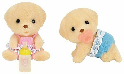 Sylvanian Families - Yellow Labrador Twins Set