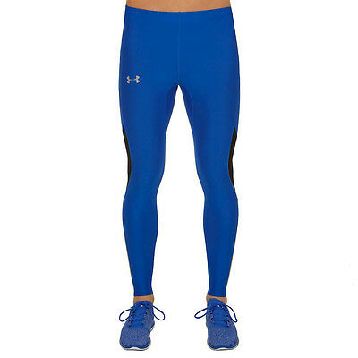 Under Armour Coolswitch v2 Hombre Azul Compression Running Mallas Pantalones