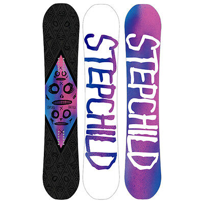 Stepchild Snowboards Winter 2014/15 Jibstick Reverse Camber 156