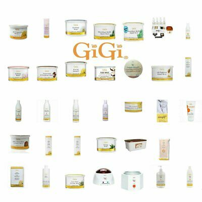 GiGi Hair Removal Wax Can Lotion Appplications Muslin *Choose Any One*