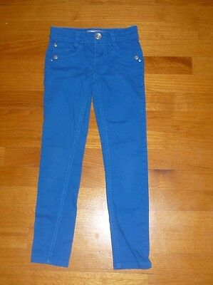 Skinny Jeans Size 7  BLUE Turquoise Slim Fit Boy Girl Unisex from Jolt