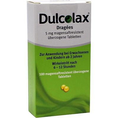 DULCOLAX Dragees magensaftresistente Tabletten  100 st   PZN 7261407