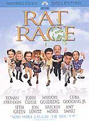 Rat Race (DVD, 2002 ) CLEANED AND TESTED ! OOP ! CLEANED & TESTED !