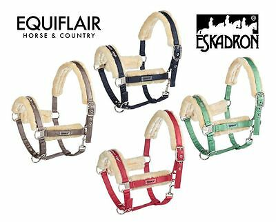 Eskadron Pin Buckle Faux Fur Headcollar / Halter Classic Sports