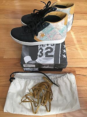 STUSSY NYC X Converse First String Pro Leather Desert Camo Mens 9.5 ... 8d06645211