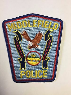 Middlefield Police Department Cloth Patch