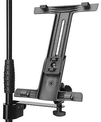 Support Stand Mount Adapter For Ipad Tablet Recording Karaoke Dj 180° Arm 370G