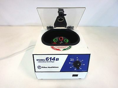 Fisher Healthcare 614B Benchtop 6 Slot Centrifuge Laboratory Clinical Blood
