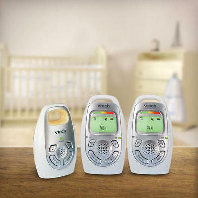 VTech Safe Digital Audio Baby Monitor with 2 Parent Units - DM223-2 - NEW!!!