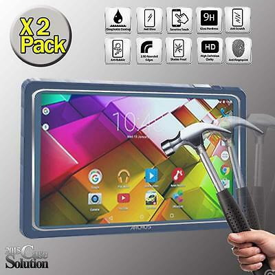 2 Pack Tempered Glass Film Screen Protector for ARCHOS 101c Copper