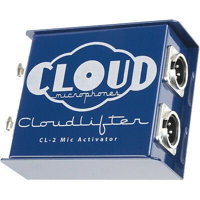 Cloud Microphones CL-2 Cloudlifter 2-Ch Dynamic Ribbon Mic Activator Preamp