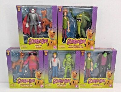 Scooby-Doo! Series 3 - Action Figures Set of 5