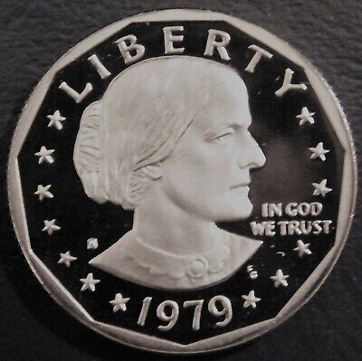 1979-S Deep Cameo GEM Proof (Susan B Anthony) US One Dollar (Type1)