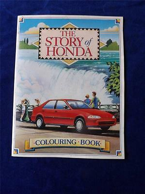 The Story Of Honda Coloring Book Information Crossword Maze Word Fill In