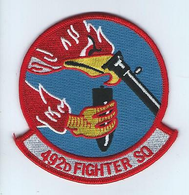 492 FIGHTER SQUADRON HERITAGE patch
