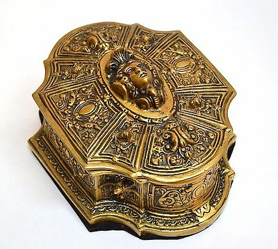 Decorative Solid Brass Box