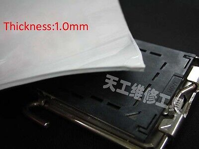 1Pc 400*200*1.0mm Laptop PC Cooling Heatsink Thermal Conductive Silicone Pad Mat