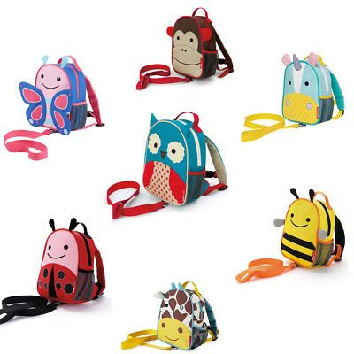 Skip Hop Zoo-let Mini Backpack With Rein - Toddler Backpack Baby Harness Bag