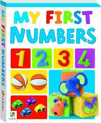 NEW My First Numbers By Hinkler Books  Board Book Free Shipping