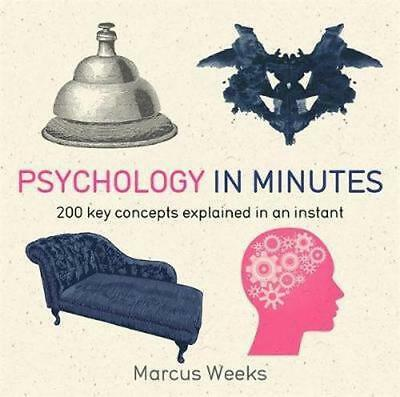 NEW Psychology in Minutes By Marcus Weeks Paperback Free Shipping