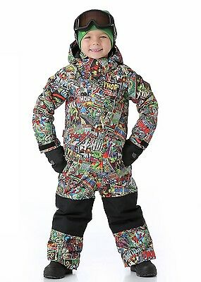 Burton Marvel 18-24T One Peice Snow Suit Toddler Brand New Youth