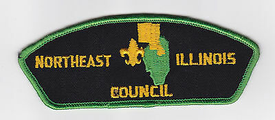 Usa Boy Scouts Of America - Northeast Illinois Scout Council Shoulder Patch Csp
