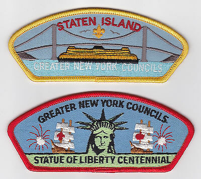 Usa Boy Scouts Of America - Greater New York Scout Council Shoulder Patch Csp