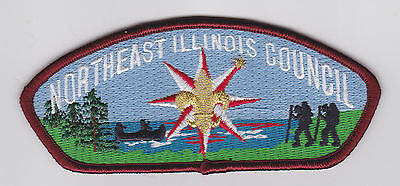 Usa Boy Scouts Of America - Northeast Illinois Council Shoulder Scout Patch Csp