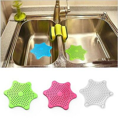 Home Drain Hair Stopper Bath Catcher Sink Strainer Sewer Filter Shower Cover HOT