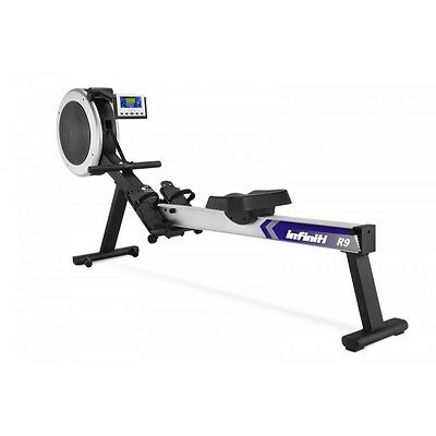 NEW Infiniti R9i Air and Magnetic Resistant Rowing machine with Programs Compute