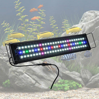 Aquarium Light - 60cm 78 LED Full Spectrum Lamp Fish Lighting Fit 61 - 76cm Tank
