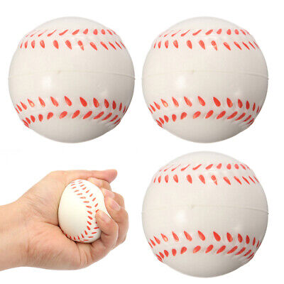 Hand Wrist Exercise Stress Relief Squeeze Rubber Soft Sponge Foam Ball Colorful