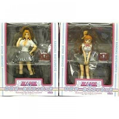 Used BLEACH DX Girls Figure Orihime Rangiku 2 set import Japan Banpresto