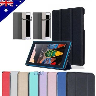 "Smart Magnetic Stand PU Leather Case Cover for Lenovo Tab 3 7"" A7-10 Essential"