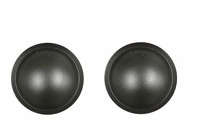 free tracking no 1 pair 35mm SPEAKER SUBWOOFER  DOME DUST CAP  cover