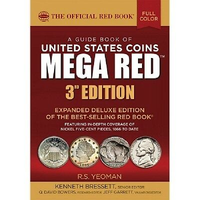 The Official Red Book Guide United States US Coins 2018 Mega Red Deluxe Free S&H