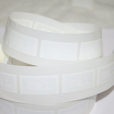 10 18x36mm White PVC NFC TAG Sticker NTAG213 Samsung Nokia Sony LG HTC Android