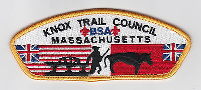 Usa Boy Scouts Of America - Bsa Knox Trail Scout Council Shoulder Patch Csp