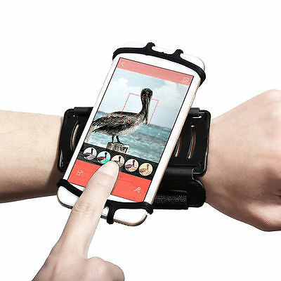"""Mobile Phone Wristband Holder Sports Strap for 4""""-5.5inch Smart Phone Adjustable"""