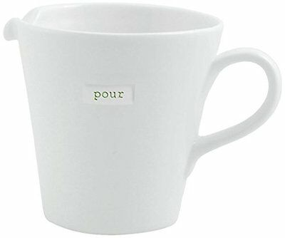 Keith Brymer Jones Medium Porcelain Pour Jug, Super White