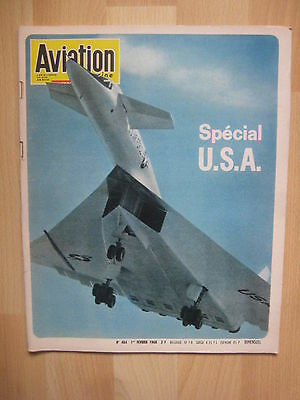 AVIATION MAGAZINE n° 484 - SPECIAL USA