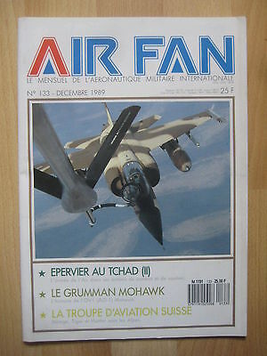 AIR FAN n° 133 - MISSION EPERVIER TCHAD - GRUMMAN AO1 MOHAWK - AVIATION SUISSE
