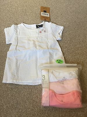 Girls Clothes Bundle All New 9-12 Months