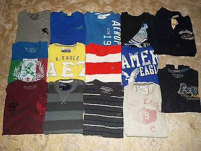 Men's size Medium Hollister American Eagle Outfitters Express top lot