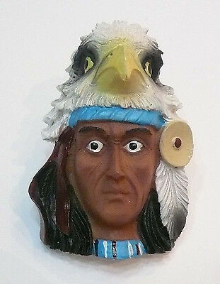 Boy Scout Woggle Indian with Eagle Neckerchief Slide Item No.78
