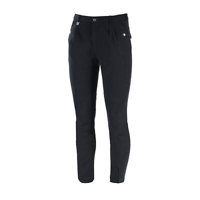SALE! Horze Men's Cotton Knitted Self-Patch Breeches | Black | [Various Sizes]