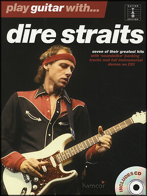Play Guitar with Dire Straits TAB Music Book & Play-Along CD Mark Knopfler